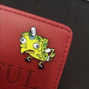 Spongebob Meme Pin